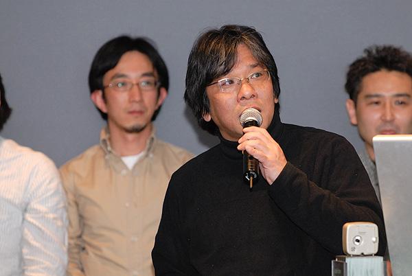 写真:日本ウェブ協会(W2C)についてプレゼンする森川眞行さん
