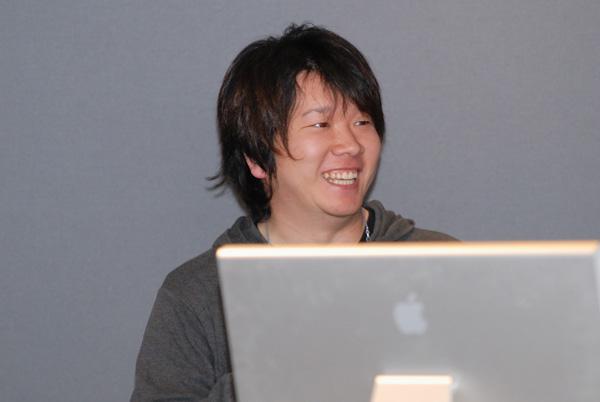 写真:マイクロソフトから五寳匡郎さん
