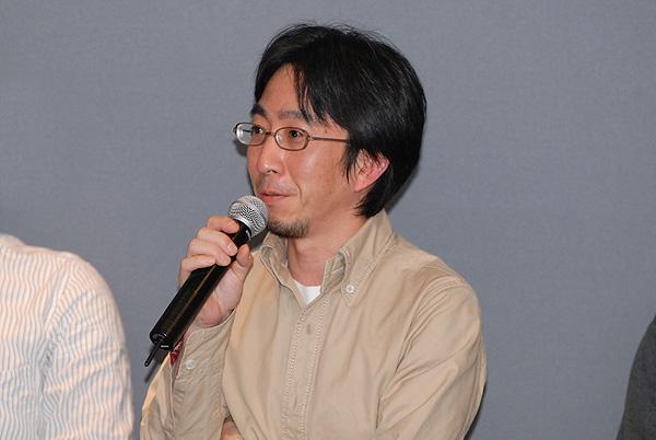 写真:Expression Webのプロダクトマネージャの春日井さん