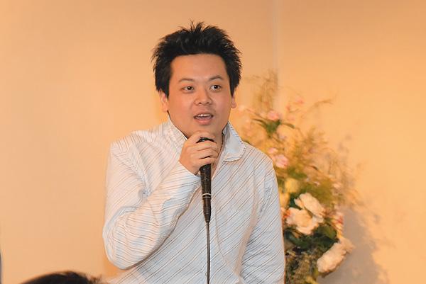 写真:名村 晋治さんからはヤクモシースピーチを
