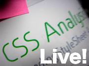 画像:「CSS Analysis Live!」ロゴ