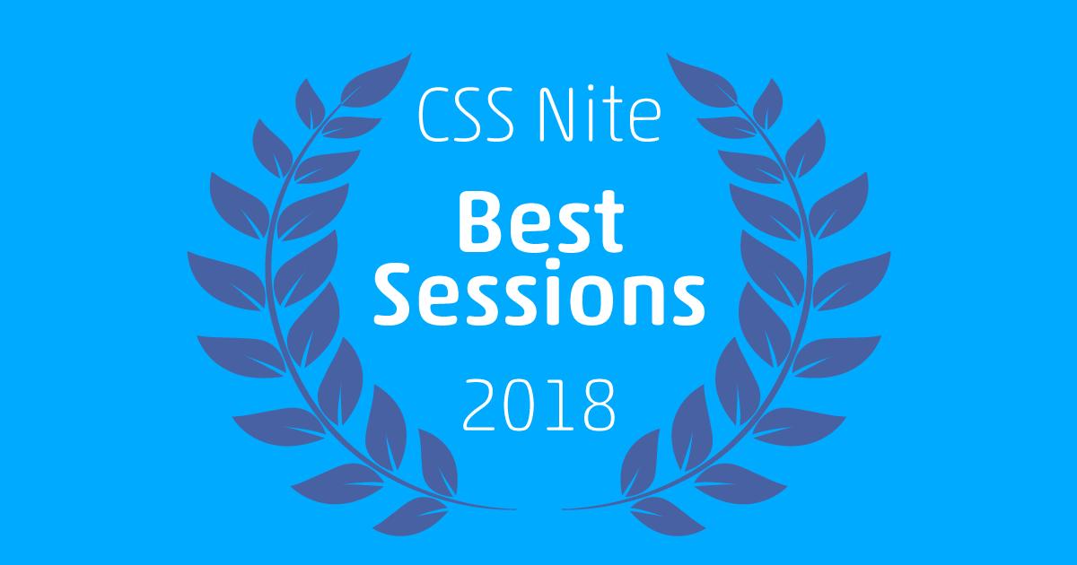 CSS Niteベスト・セッション2018