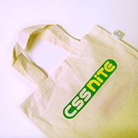 写真:CSS Nite特製トートバッグ
